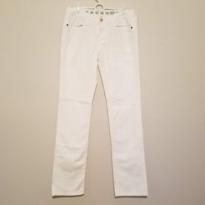 NWT Earnest Sewn Decca Straight Leg Mid-Rise Jeans